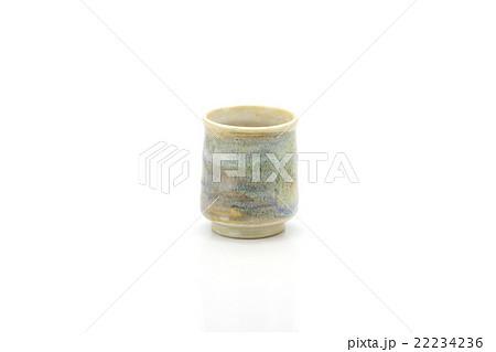 Antique tea cup isolated on white backgroundの写真素材 [22234236] - PIXTA