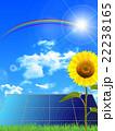 ソーラー ソーラーパネル 太陽のイラスト 22238165