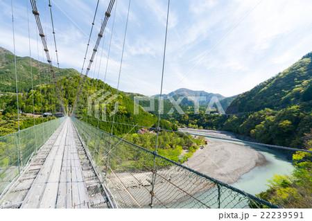 吊り橋 谷瀬 の