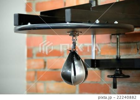 Speed punching bag in gymの写真素材 [22240882] - PIXTA