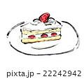 ショートケーキ 22242942