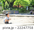 砂場遊びをする幼児 22247758