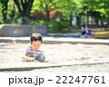 砂場遊びをする幼児 22247761