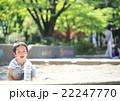 砂場遊びをする幼児 22247770