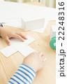 工作する女の子 俯瞰 パーツカット パーツ カット ボディパーツ 工作 女の子 小学生 算数 立体 22248316
