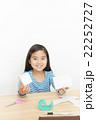 工作する女の子 工作 女の子 小学生 算数 立体 22252727
