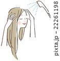 女性 シャワー 22261198