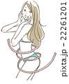 女性 ボディライン 22261201