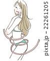 女性 ボディライン 22261205