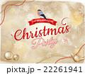 クリスマス 飾り デコラティブのイラスト 22261941