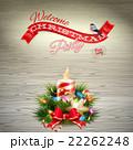 クリスマス バックグラウンド 背景のイラスト 22262248