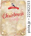 クリスマス 飾り デコラティブのイラスト 22262253