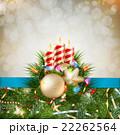 クリスマス バックグラウンド 背景のイラスト 22262564