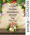 クリスマス ベクター バックグラウンドのイラスト 22262566