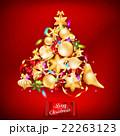バックグラウンド 背景 クリスマスのイラスト 22263123