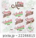Menu Italian wood 22266815