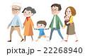 家族 ベクター 3世代のイラスト 22268940