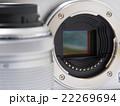 デジタルカメラ カメラ 開口部の写真 22269694