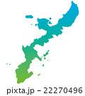 沖縄県 地図 22270496