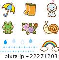 6月/梅雨素材 22271203