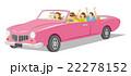 オープンカー 車 ドライブのイラスト 22278152