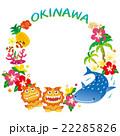 沖縄 沖縄県 沖縄素材のイラスト 22285826