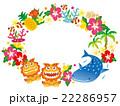 沖縄 沖縄県 沖縄素材のイラスト 22286957