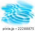 波 背景 しずくのイラスト 22288875