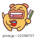 歯磨き カバ 動物のイラスト 22298737