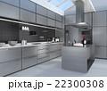 インテリア キッチン 台所のイラスト 22300308