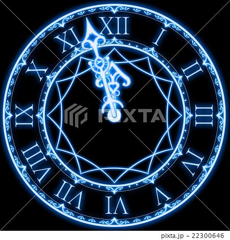 シンデレラの時計のイラスト素材 22300646 Pixta