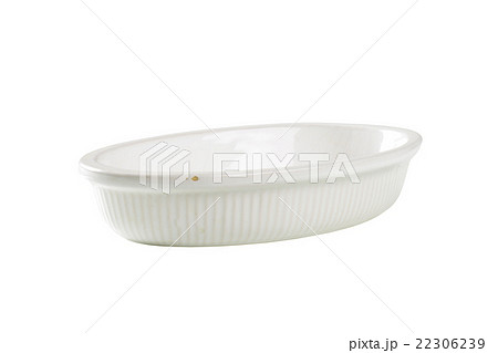 Deep oval porcelain dishの写真素材 [22306239] - PIXTA