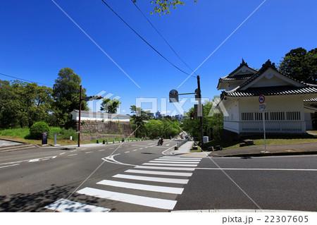 青葉山公園 大手門跡と大手門脇櫓 22307605