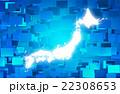 ネットワーク素材 22308653