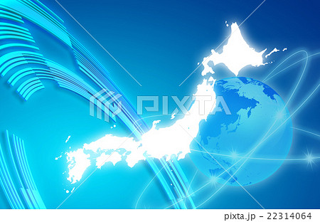 ネットワーク素材 22314064