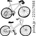 自転車 挿絵イラスト 22317988