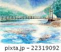 上高地の大正池スケッチ 22319092