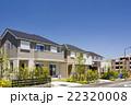 新築住宅が並ぶ新しい町並み 22320008