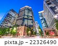 ビル群 オフィス街 ビジネス街の写真 22326490