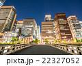 【東京】丸の内オフィス街の夜景 22327052