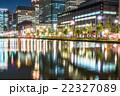 【東京】丸の内オフィス街の夜景 22327089