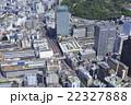 新宿 バスターミナル 空撮の写真 22327888