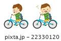 サイクリングする男性 その2 22330120