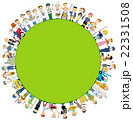 働く人々 集合 22331508