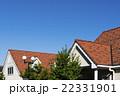 瓦屋根と青空 22331901
