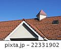 瓦屋根 屋根 青空の写真 22331902