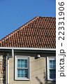 瓦屋根 屋根 青空の写真 22331906