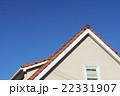 瓦屋根 屋根 青空の写真 22331907