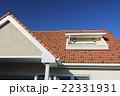 瓦屋根と青空 22331931