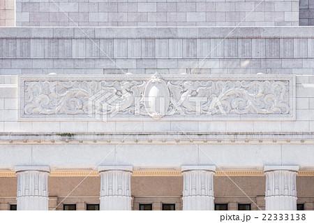 国会議事堂・正面・鳳凰のレリーフ 22333138